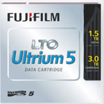 LTO-5 Ultrium Data Cartridge 1.5 TB / 3.0 TB LTO Ultrium-5 FujiFilm Tape Part # 16008030