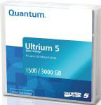 LTO-5 Ultrium Data Cartridge Quantum 1.5TB / 3.0TB LTO Ultrium-5 Tape Part # MR-L5MQN-01